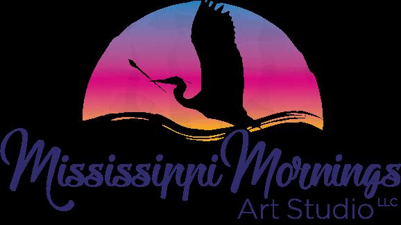 Mississippi Mornings Art Studio Logo